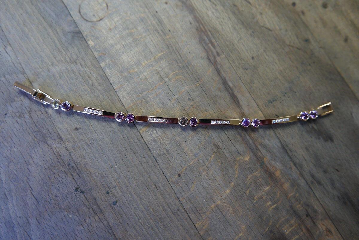 Stilvolles Armband aus Armband aus 750/- Roségold